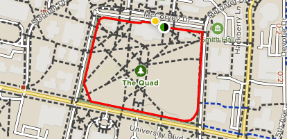 University of Alabama Quad Trail - Alabama | AllTrails