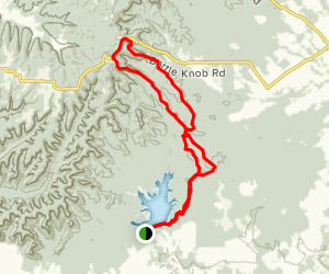 Knobstone and Horse Trail Loop  Map