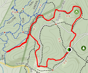 Grand Loop, Yellow Trail, and Aqueduct Trail Map
