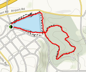 Moon Lake and Idle Hour Park Nature Trail Map
