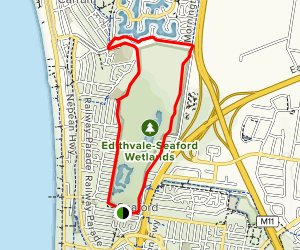 Edithvale-Seaford Wetlands Trail Map