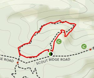 Scout Ridge Nature Preserve Map