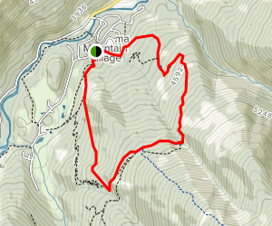 Lower No Way Jose, Cox Creek, Let it Ride, and Hell's Bells Loop Map