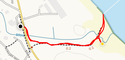 Kupskalnu Walking Trail Map