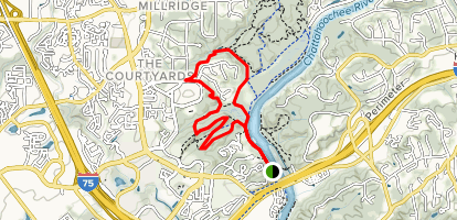 Slick Rock Elevator Trail  Map