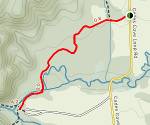 Wet Bottom Trail Map
