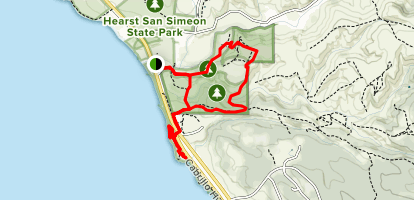 San Simeon Loop and North Moonstone Beach - California ... on south el monte map, pismo beach map, moonstone beach map, yorba linda map, morro bay state park map, hearst castle map, pico rivera map, santa cruz map, van nuys map, hearst mansion map, casmalia map, carmel bay map, santa susana pass map, cayucos map, gorda map, lake san antonio map, yosemite national park map, mission san luis obispo map, turlock map,