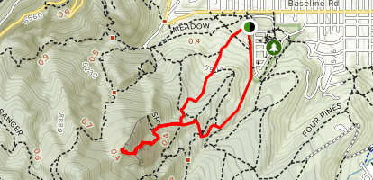 First and Second Flatiron Loop - Colorado   AllTrails
