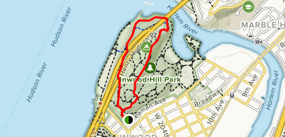Inwood Hill Park Map Inwood Hill Park Trail   New York | AllTrails