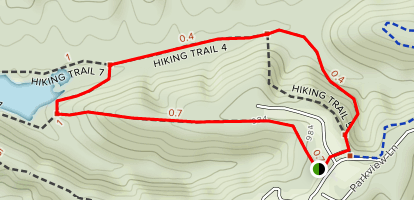 Hesitation Point to Green Valley Loop - Indiana | AllTrails