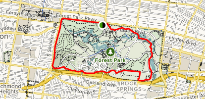 Forest Park Heels Path - Missouri | AllTrails on st louis wax museum, st louis route 66, st louis pride, st louis restaurants, star of fame, st louis movies, st louis home, st louis farmers market, st louis seating chart, branch rickey hall of fame, st louis california,