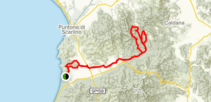 Pian d'Alma to Scarlino Tre Dita Loop - Tuscany, Italy | AllTrails on
