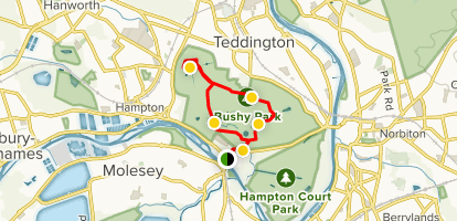 Bushy Park Map The Mute Swan and Bushy Park Walk   London, England | AllTrails
