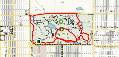 City Park Perimeter Loop - Colorado | AllTrails Denver Colorado City Map on denver neighborhood map, denver city limits map, denver city map online, denver surrounding cities, denver metro area city maps, denver city council map, denver colorado usa map, denver on the map, denver co, university of colorado denver anschutz campus map, denver city park map, denver city map with locations, denver united states map, denver metro map with city boundaries, denver airport map, denver las vegas map, denver castle rock map, denver i-70 colorado exits map, cherry creek denver colorado map, old denver colorado map,