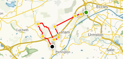 Chat Moss - Greater Manchester, England | AllTrails Chat Map on
