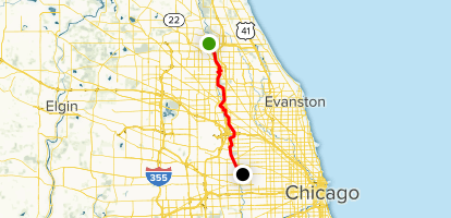Des Plaines River Trail: Lake Cook Road to North Ave ...
