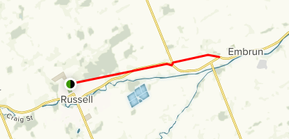 New York Central Fitness Trail: Russell to Embrun - Ontario, Canada ...