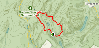 Brecon Beacon Horseshoe - Powys, Wales | AllTrails on offa's dyke map, salisbury map, anglesey map, thames path map, mourne mountains map, cardiff map, isles of scilly map, belfast map, somerset map, lake district map, ceredigion map, cambrian mountains map, hemel hempstead map, dartmoor map, ebbw vale map, ben nevis map, great britain map, river severn map, big bend national park map,