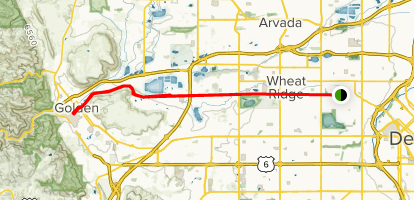 Denver Highlands to Golden Bike Ride - Colorado | AllTrails on