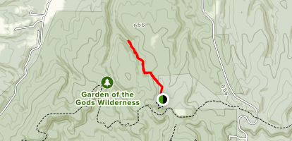 Garden of the Gods Trail - Illinois | AllTrails on devil's lake state park trail map, brown county state park trail map, helen hunt falls trail map, colorado national monument trail map, alabama hills trail map, yellow creek state park trail map, united states trail map, knob hill trail map, point dume trail map, bear creek regional park trail map, dinosaur valley state park trail map, palmer lake trail map, stone mountain state park trail map, pagosa springs trail map, guanella pass trail map, pecos national historical park trail map, glenwood springs trail map, tettegouche state park trail map, fort robinson trail map, cape henlopen state park trail map,