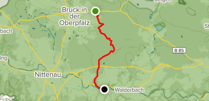 Goldsteig Southern Route Stage 10: Mappach to Reichenbach ...