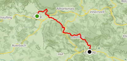Goldsteig Southern Route Stage 19: Lalling to Zenting ...
