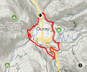 Ouray Perimeter Trail Map