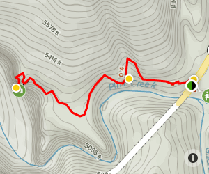 Zion Canyon Overlook Trail Map