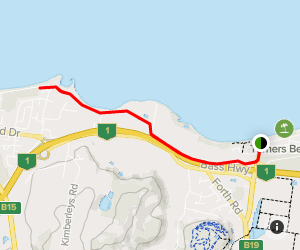 Turners Beach to Ulverstone Pathway Map