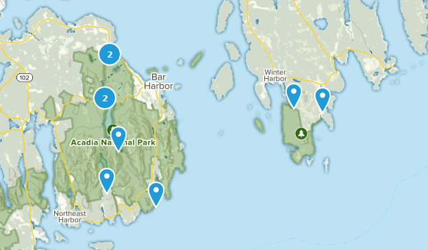 Die besten Mountainbike-Touren in Acadia National Park   AllTrails