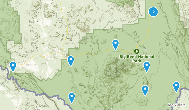 Best OHV / Off Road Driving Trails in Big Bend National Park ...