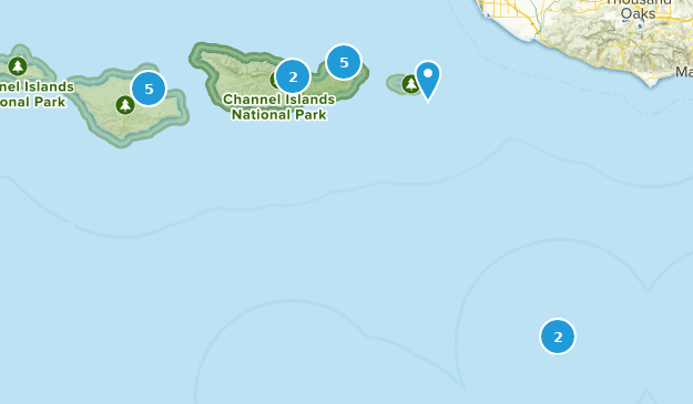 Parc national des îles Anglo-Normandes Bird Watching Map