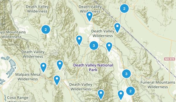 Best Birding Trails In Death Valley National Park Photos - Death valley us map