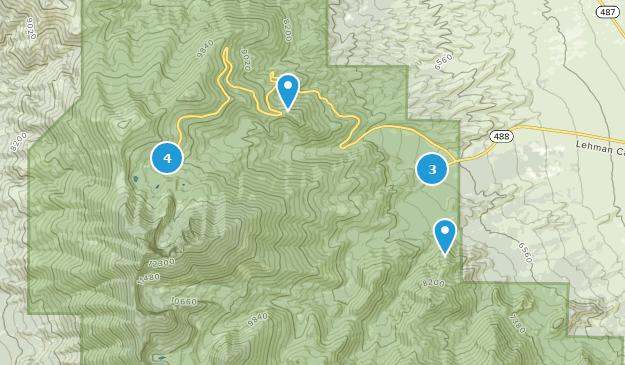 Best Kid Friendly Trails In Great Basin National Park Alltrails - Great-basin-on-us-map
