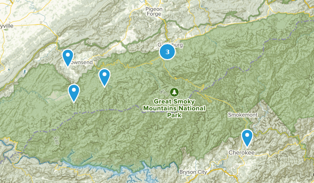 Best Scenic Driving Trails in Great Smoky Mountains National ... on map of the ozarks, map of great smoky mountains in tennessee, map of the grand canyon, map of the sequoia national park, map of the cumberland plateau, map of the adirondack park, map of the university of virginia, map of the smoky mtns,