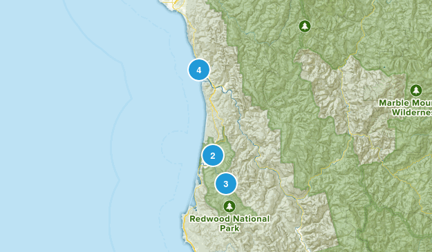 Best Trail Running Trails in Redwood National and State Parks ...