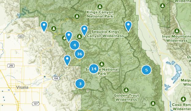 Beste Waldwege in Sequoia National Park   AllTrails