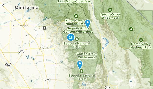 Best Waterfall Trails In Sequoia National Park Alltrails