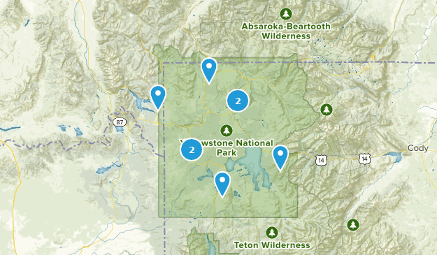Die besten Mountainbike-Touren in Yellowstone National Park ...