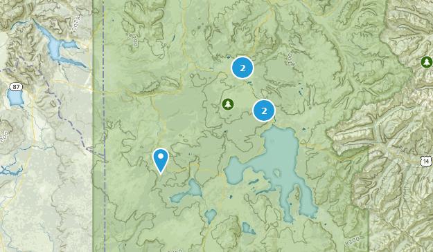 Yellowstone National Park Paved Map