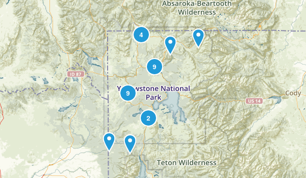 Yellowstone National Park Britannicacom Urgent Warning The - Yellowstone map us