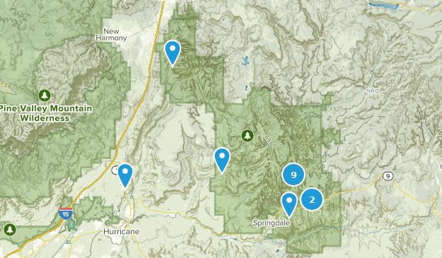 Die besten Wasserfallrouten in Zion National Park   AllTrails