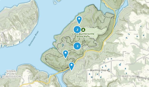Lake Guntersville State Park Birding Map