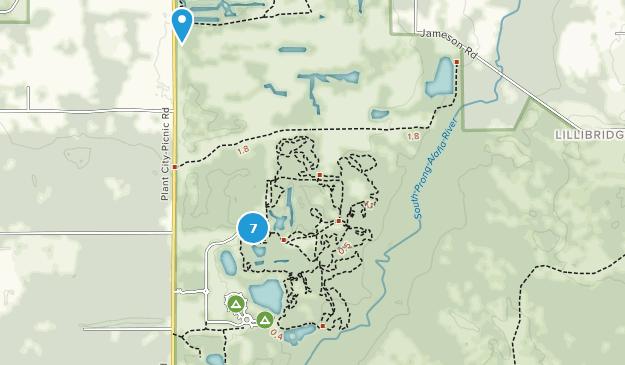 Alafia River State Park Nature Trips Map
