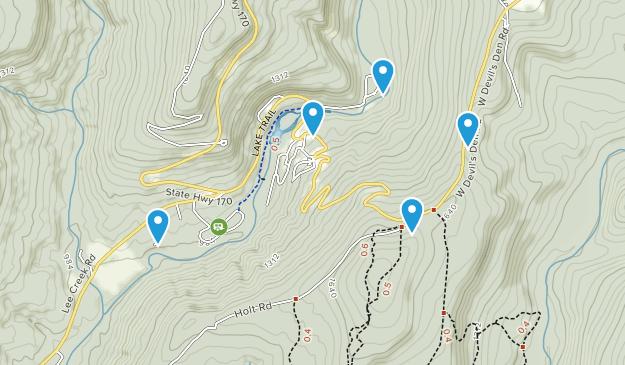 Best Cave Trails in Devil\'s Den State Park | AllTrails