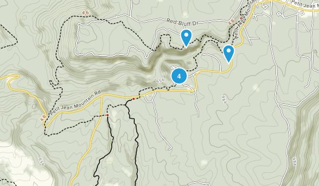 Petit Jean State Park Kid Friendly Map
