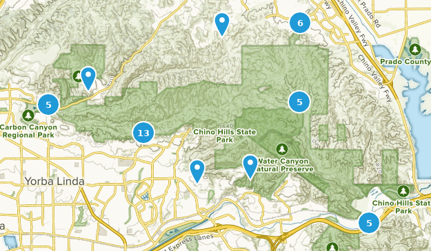 Best Hiking Trails in Chino Hills State Park | AllTrails on orienteering map, hiking tours, hiking trail, following a map, trail map, hunting map, space exploration map, hiking tracks, nature map, places to go map, hiking tips,