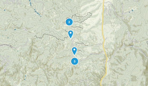 Mueller State Park Nature Trips Map