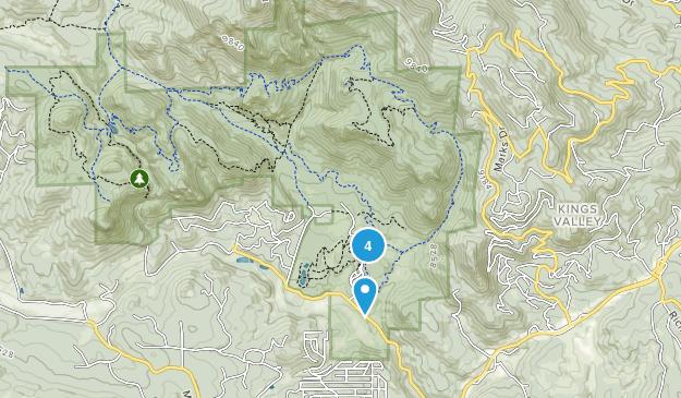 Staunton State Park Rock Climbing Map