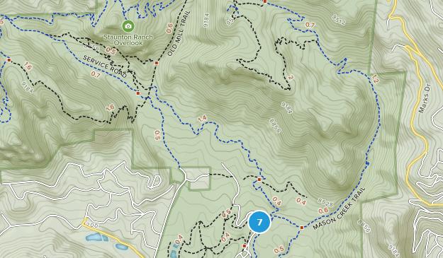 Staunton State Park Waterfall Map